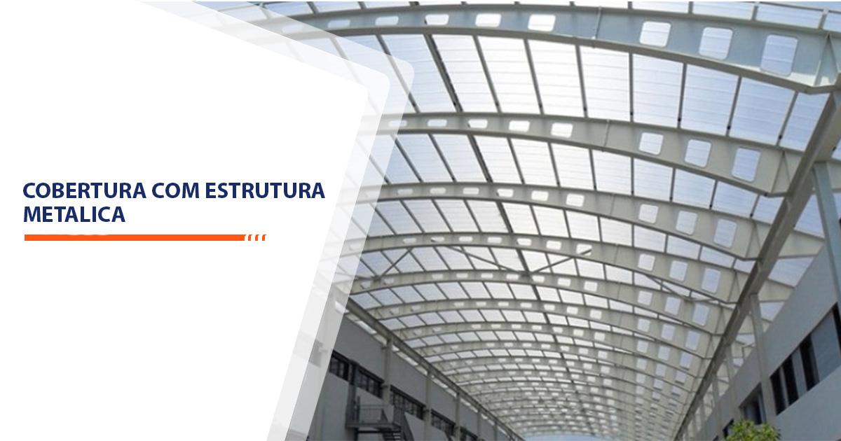 cobertura com estrutura metalica Santos