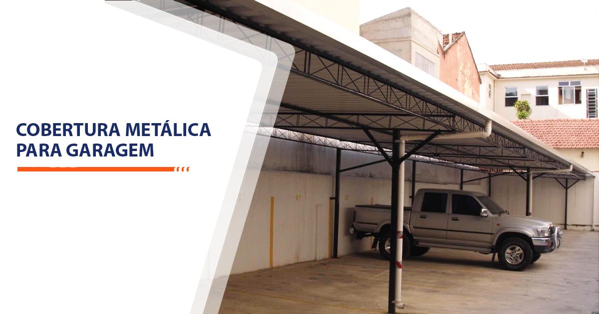 Cobertura Metálica para Garagem Santos