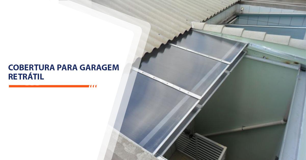 Cobertura para Garagem Retrátil Santos
