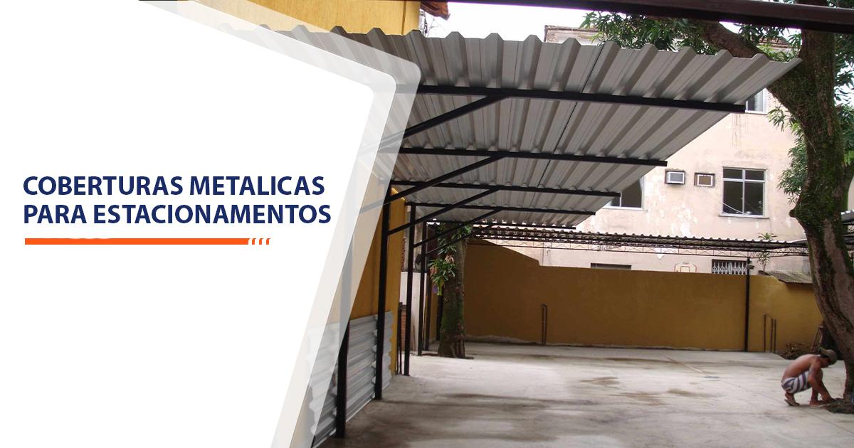 coberturas metalicas para estacionamentos Santos