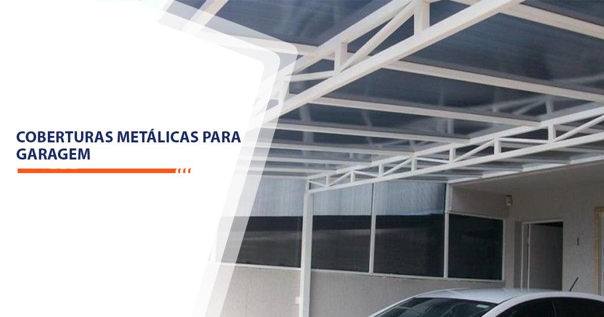 coberturas metálicas para garagem Santos