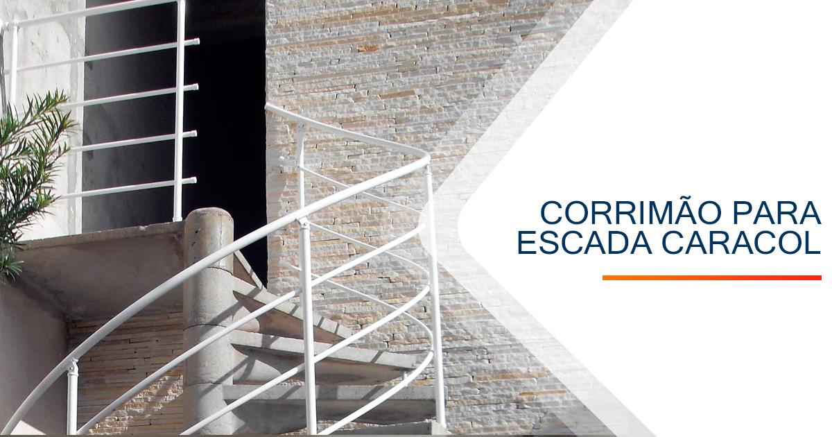 Corrimão para Escada Caracol Santos