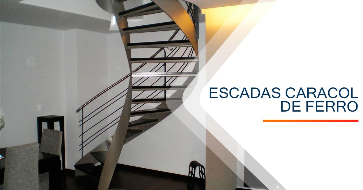 Escadas Caracol Ferro Santos