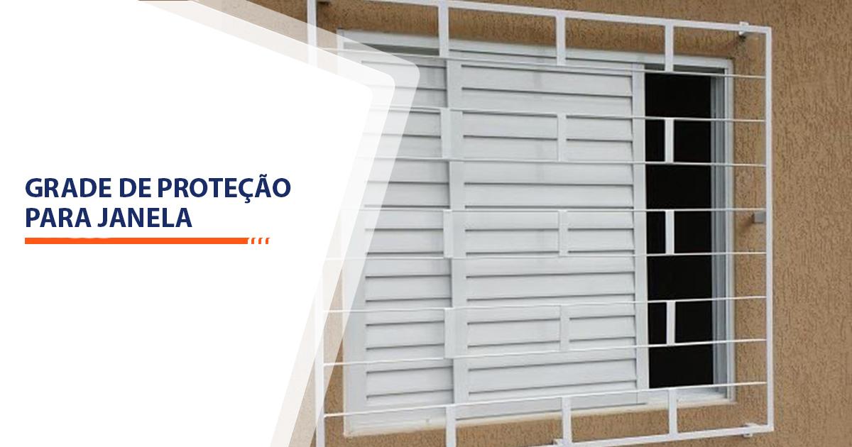 Grade de proteção para janela Santos