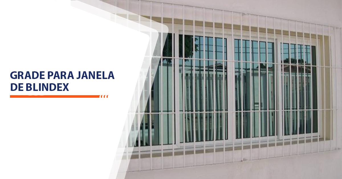 Grade para janela de blindex Santos