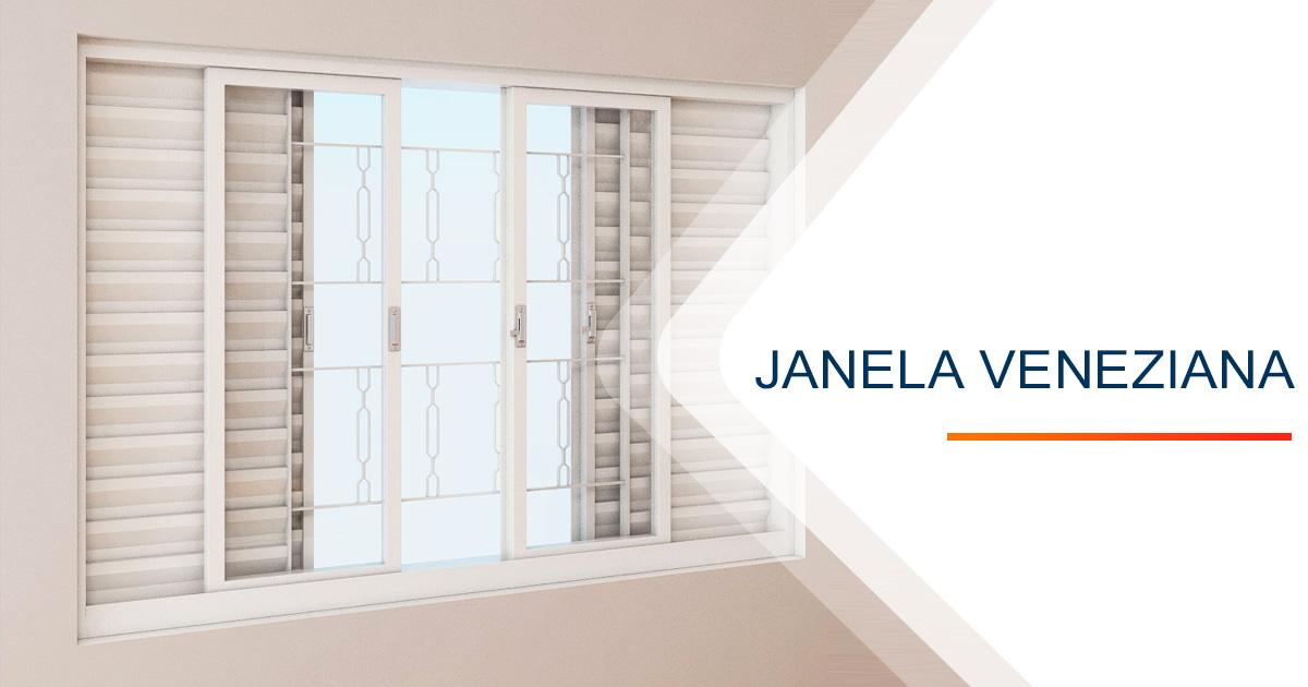 Janela Veneziana Santos