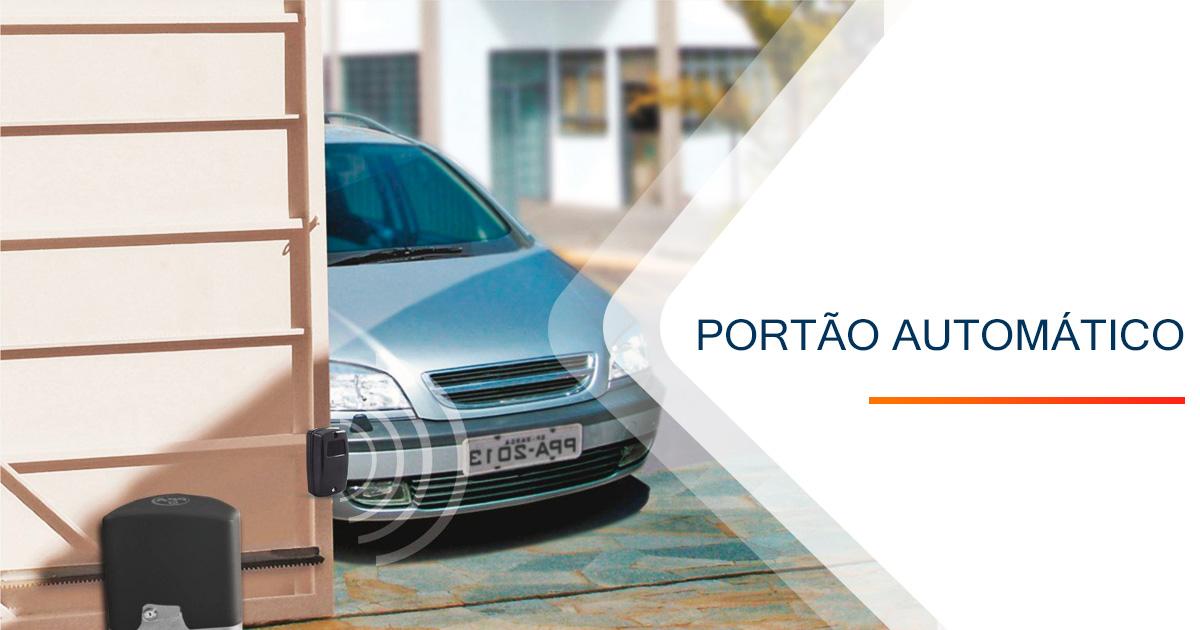 Portão Automatico Santos